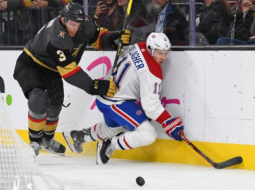 Canadiens topple Golden Knights in OT