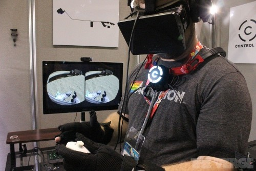 We've seen virtual reality. It's time to touch it