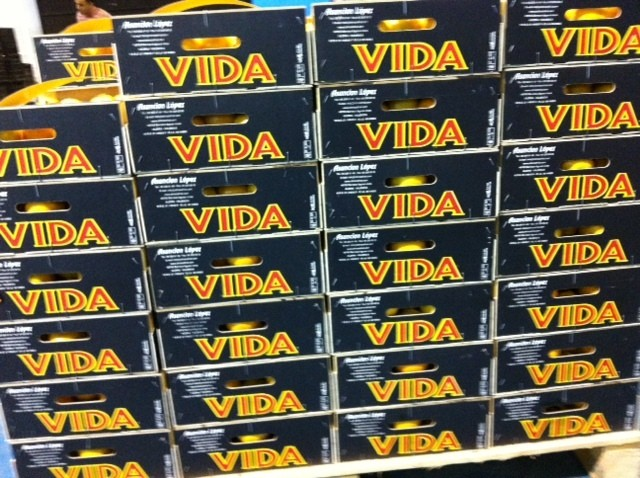 Marca: VIDA Producto: Mandarina Variedad : Owari CAT.EXTRA Origen : Valencia ( España ) Web : www.citricosfrial.com