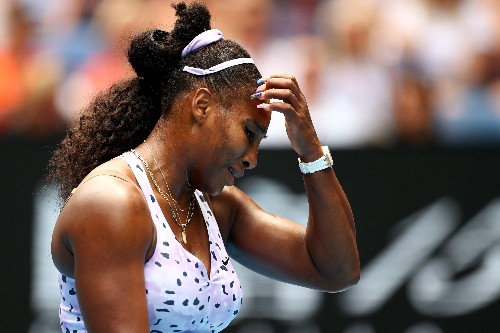 Crushed Serena says Grand Slam record bid will go on