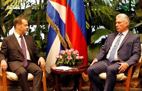 Russischer Ministerpräsident kritisiert Kuba-Politik der USA