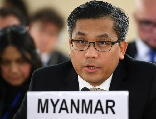 U.N. envoy fears 'new crisis' for Rohingya if moved to Bangladesh island