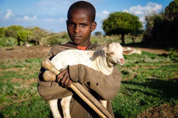 Living with Kenya's Maasai people