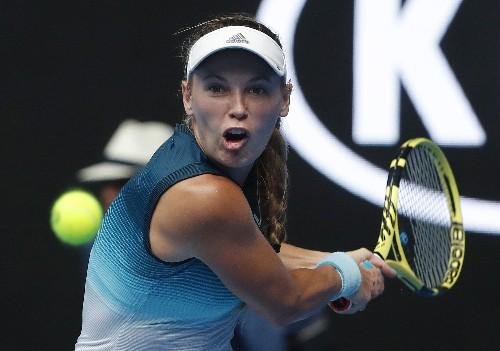 Tennis: Wozniacki sets up potential showdown with Sharapova