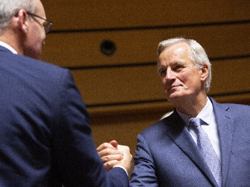 EU's Barnier says Brexit deal still possible this week