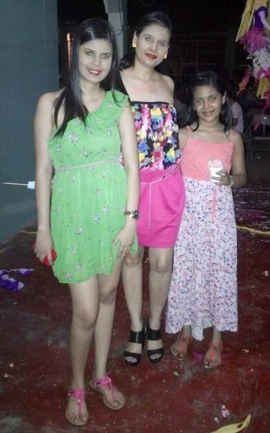 Mis chicas en Semana Santa 2014 en Olanchito
