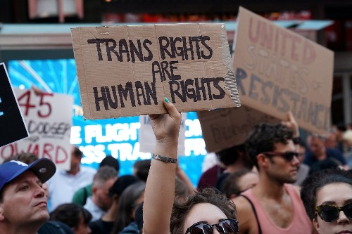 Two lawsuits challenge Trump transgender military service ban