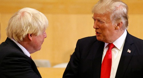 UK's Johnson tells Trump: Lower your trade barriers to seal UK deal