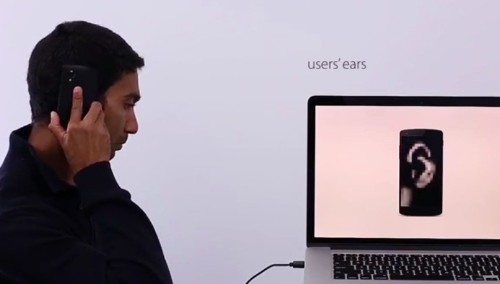 Yahoo Researchers Use A Phone's Touchscreen To Scan The Ear Like A Fingerprint