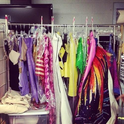 Prismatic World Tour Backstage