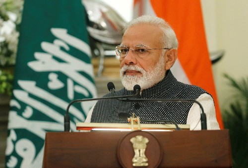 India's Modi condemns Sri Lanka attacks, says he can defeat the 'terrorists'