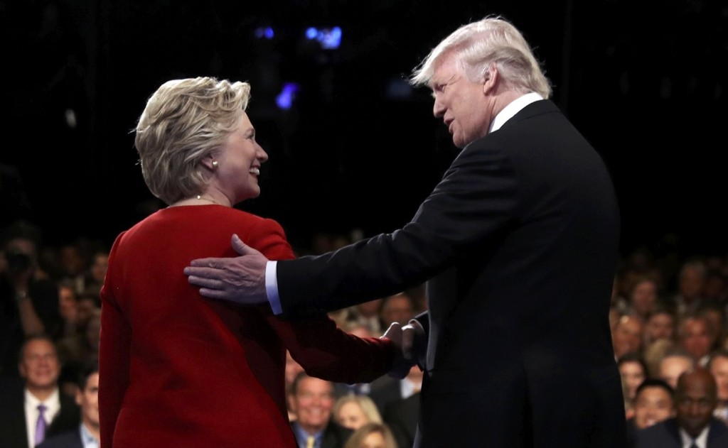 Trump, Clinton Clash During First Debate: Pictures