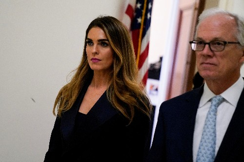 Explainer: Can Trump block ex-aide Hicks from talking to Congress by citing immunity?