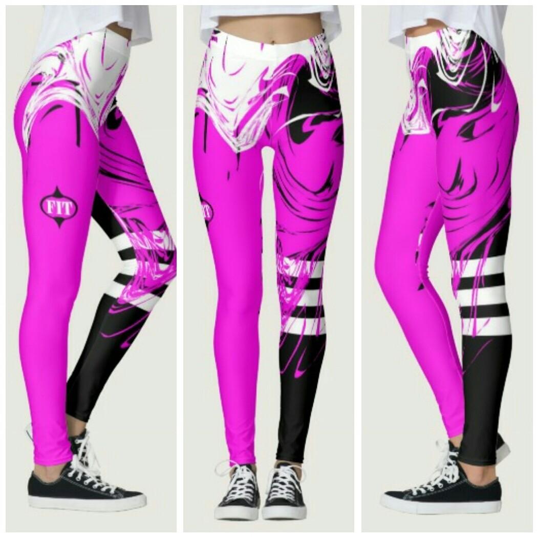 www.zazzle.com/robleedesigns $64.00 #fashion #style #fitness #graphicdesign #design #leggings #shop #women