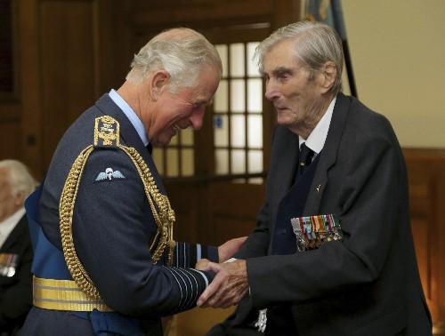 Battle of Britain fighter pilot Paul Farnes dies at 101