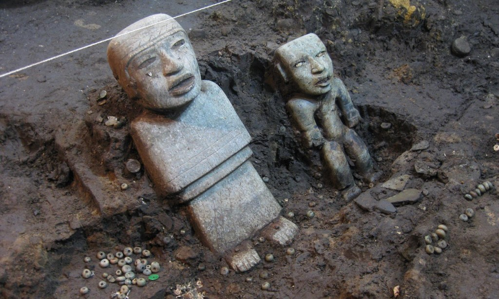 Mexico's ancient city guards its secrets but excavation reveals new mysteries