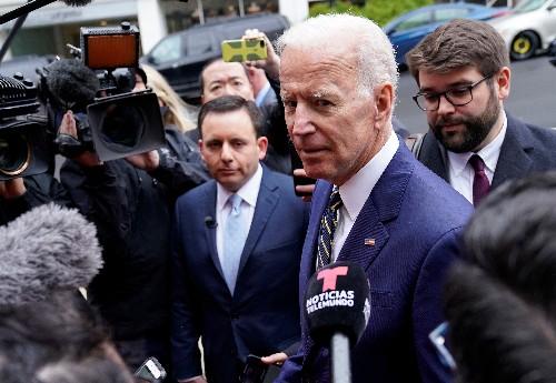 El exvicepresidente Joe Biden aspirará por tercera vez a la Casa Blanca