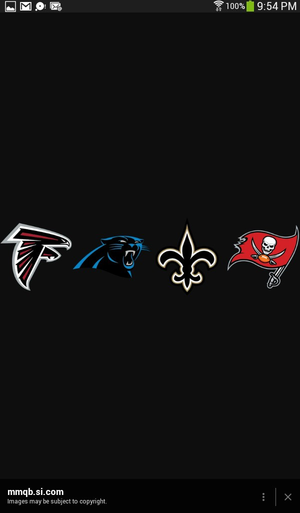 NFC South cover image