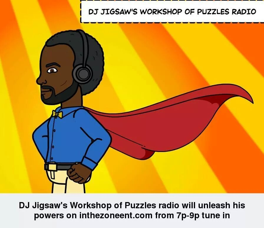 #DJ #Jigsaw #Mixing #Live #Tonight on Jigsaw's Workshop of Puzzles radio the Welcome back show with special guest DJ inthezoneent.com 7p -9p est be sure to tune in