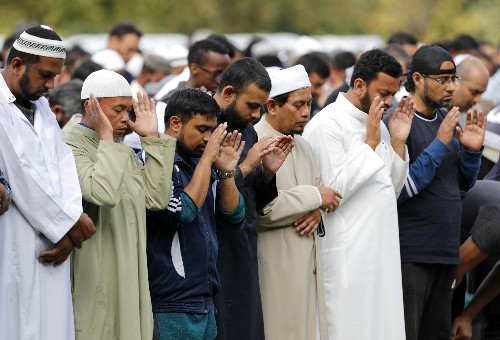 Imam says New Zealand is broken-hearted but not broken