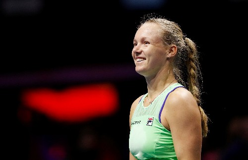 Bertens sets up clash with Rybakina in St Petersburg final