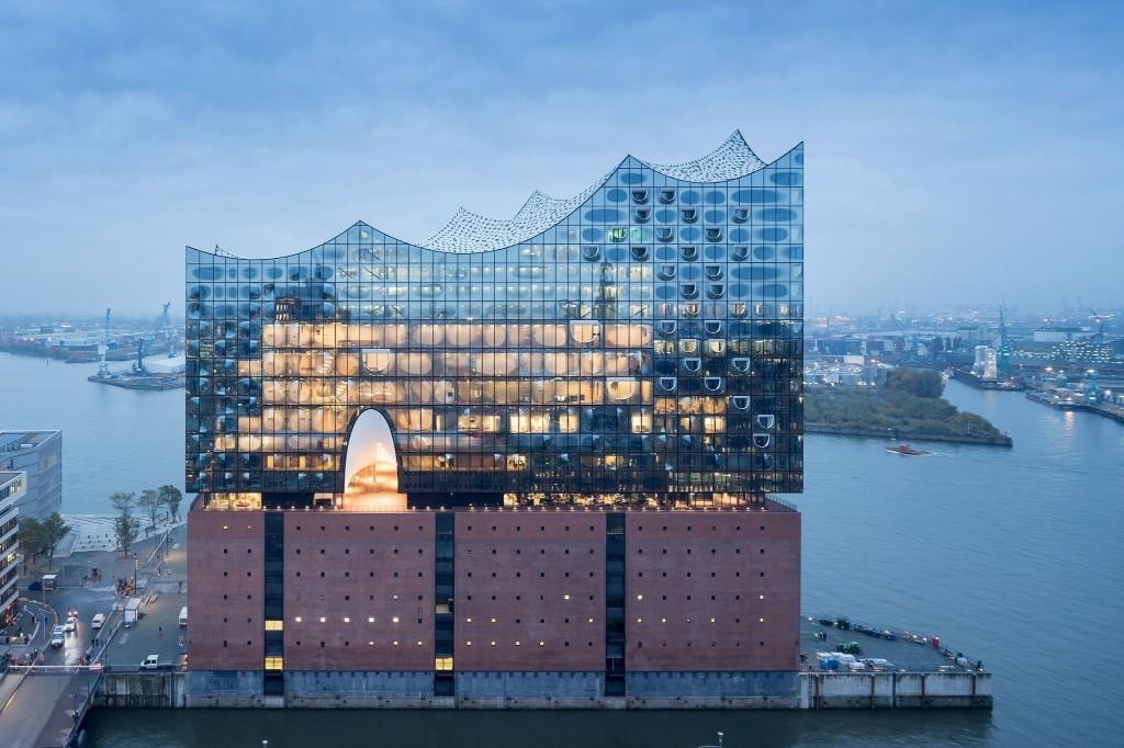 Herzog & de Meuron Elbphilharmonie Opera House in Hamburg