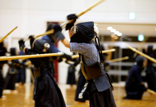 'All about the spirit': Japanese kendo master readies for Olympic torch relay