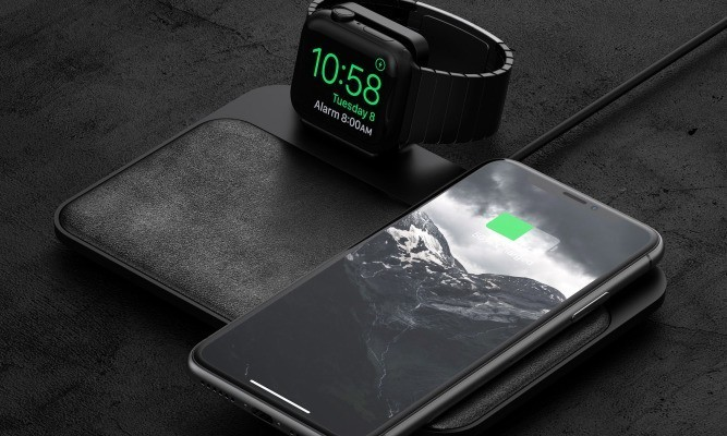 Nomad releases a stunning wireless charging pad with Apple Watch dock
