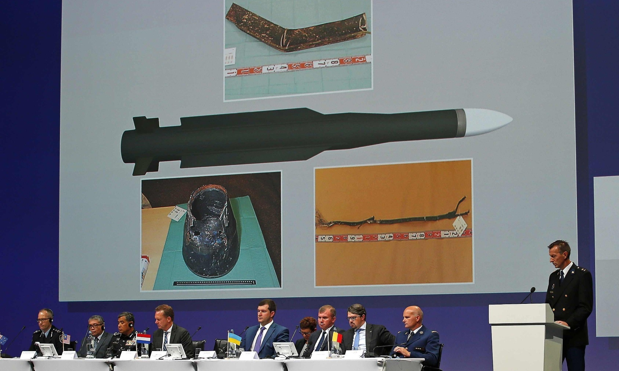 Flight MH17 shot down by missile brought into Ukraine from Russia, say investigators