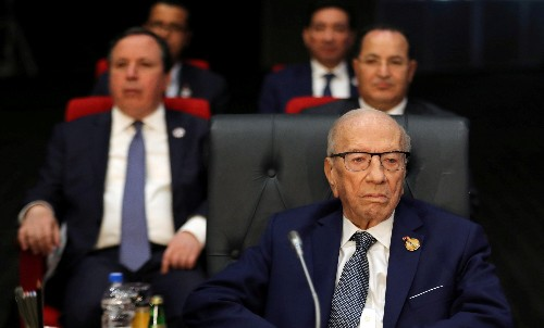 Tunisia president, 92, leaves hospital, to resume work in coming days - son