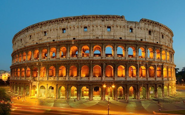 US tourists arrested for carving initials on Rome Colosseum