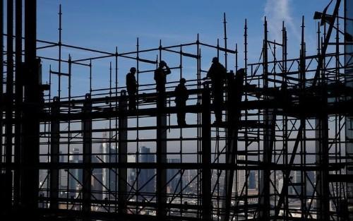 Industrie - Kein Winterdämpfer für die Bauwirtschaft