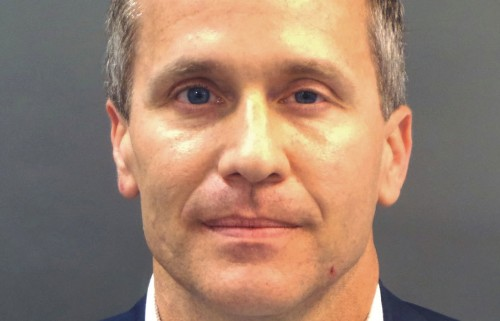 Missouri governor's trial over sex scandal starts amid pressure to resign