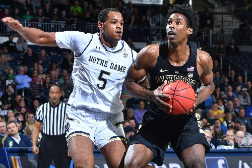 Wake Forest blows lead before beating Notre Dame