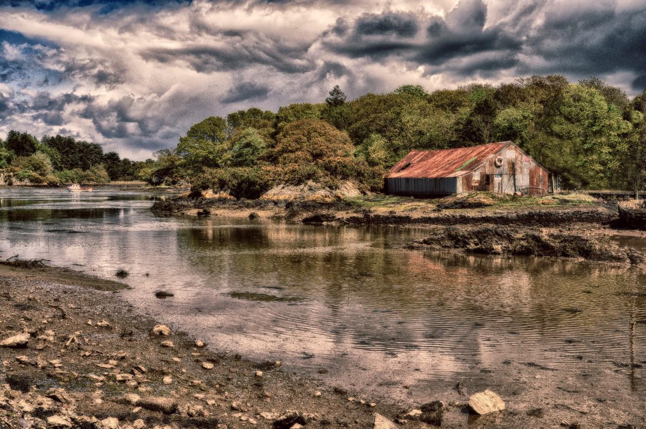 Derelict Boatyard - Menai Bridge