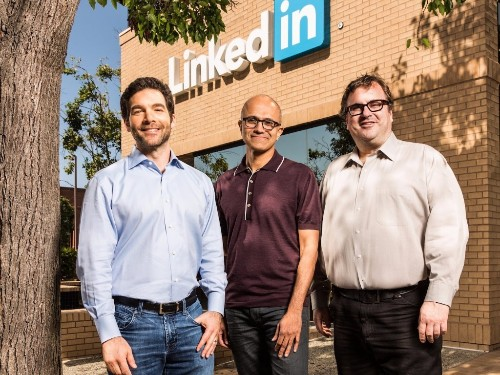 LinkedIn founder Reid Hoffman joins Microsoft's board of directors