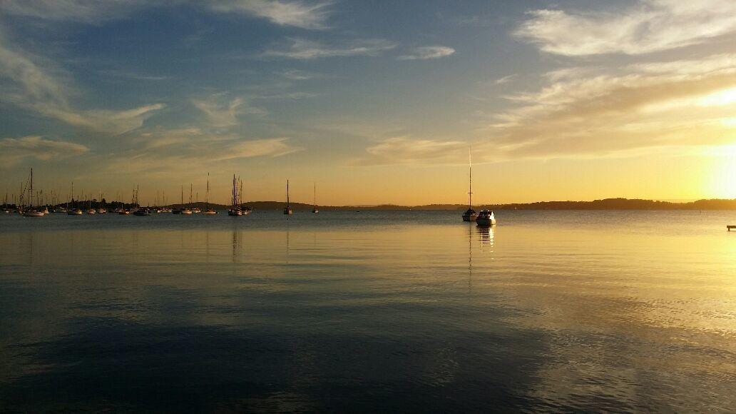 Sunset over Lake Macquaire