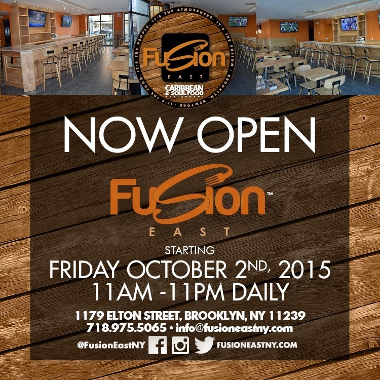 Brooklyn's newest Caribbean and Soul Food Restaurant! Great food and drinks and Live entertainment!