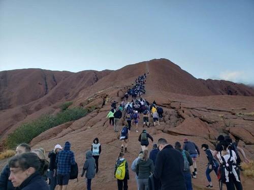 Thousands rush to climb Australia's Uluru ahead of ban