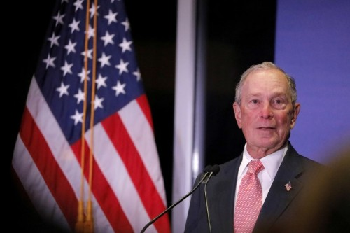 Democrat Bloomberg vows to narrow wealth gap for black Americans