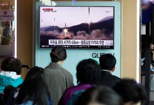 North Korea test-fires ballistic missile in defiance of world pressure