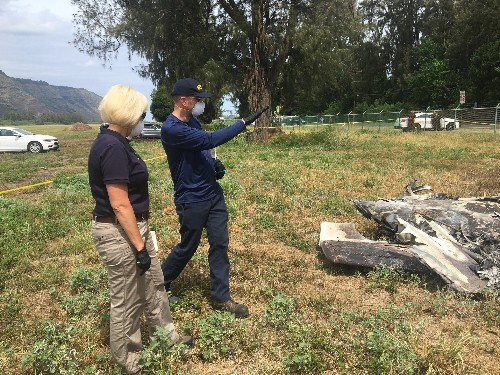 Skydiver of previous wreck on Hawaii plane 'extremely upset'