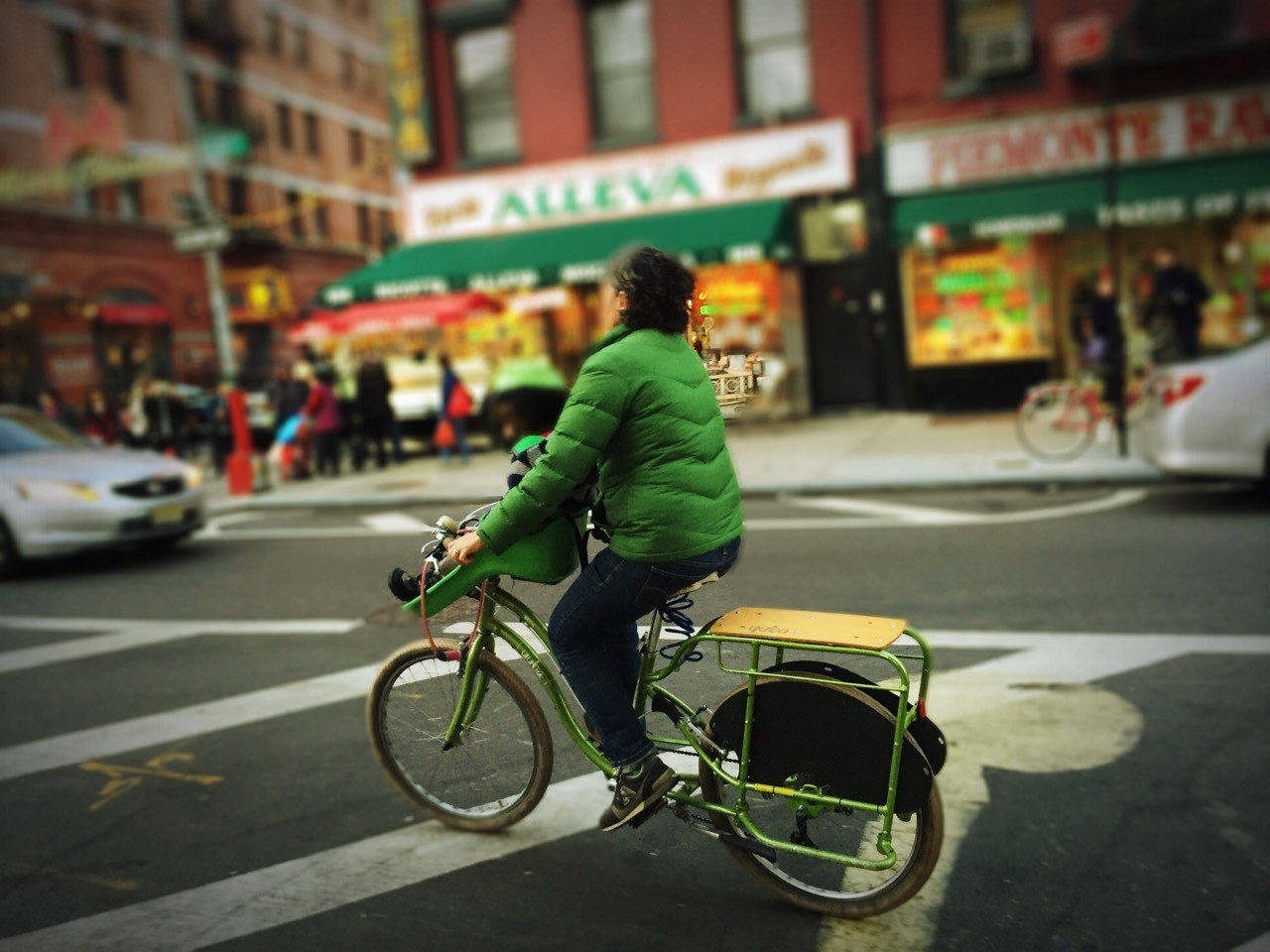 A ride in little Italy #iphoneography #streetphotography #NYC