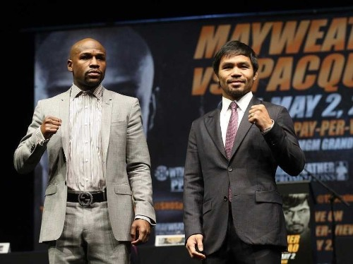 Floyd Mayweather and Manny Pacquiao are expected to split $300 million — here's where the money comes from