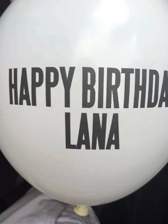 Happy B-day Lana, now you're 28 ♥