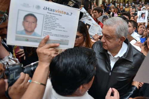 Mexican president says state was main violator of human rights