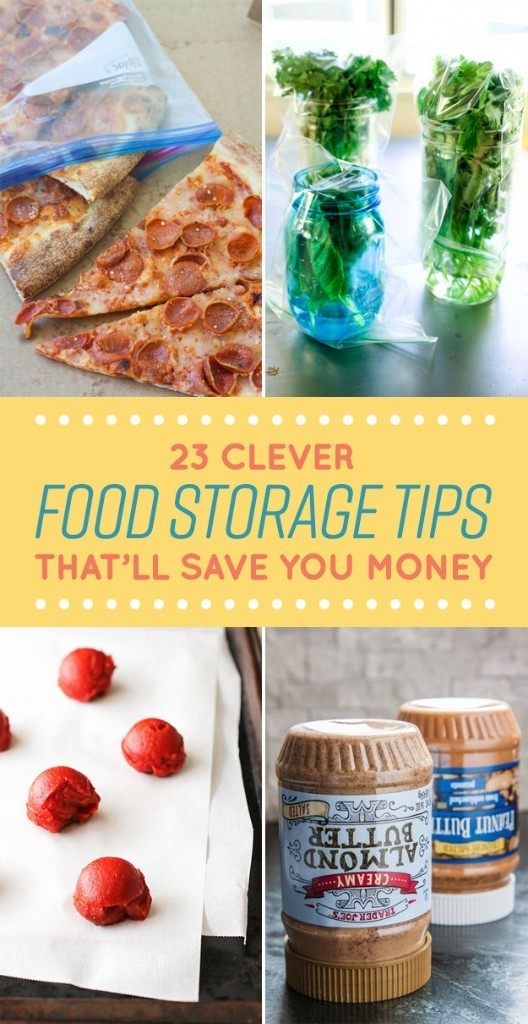 23 Clever Ways You Should Have Been Storing Your Food All Along