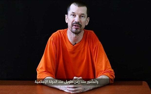Isil releases new video of British hostage John Cantlie