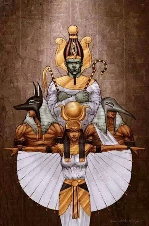 Three of the Gods that inspires me to stand as a King among many.