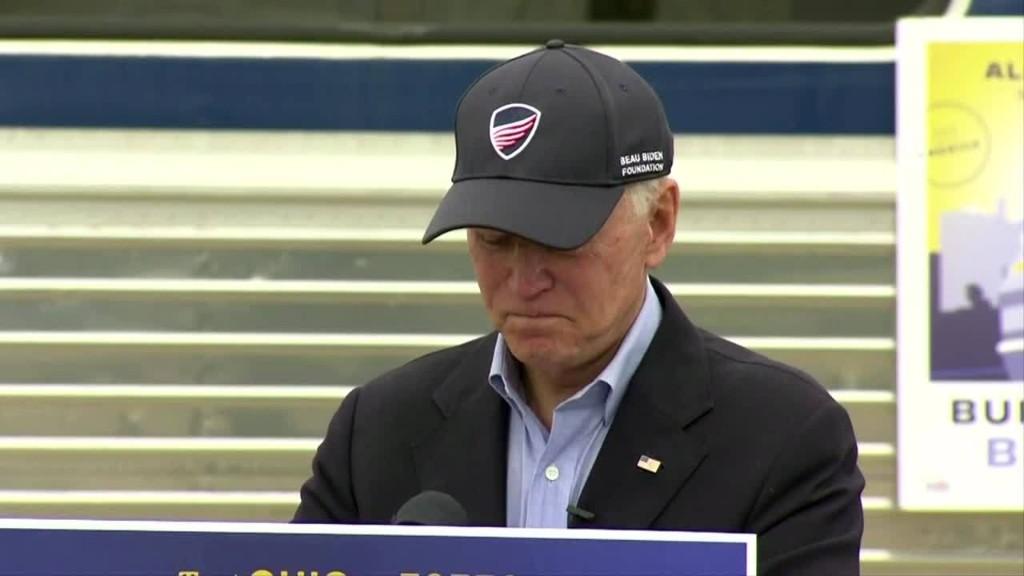 Trump a 'national embarrassment' at debate -Biden
